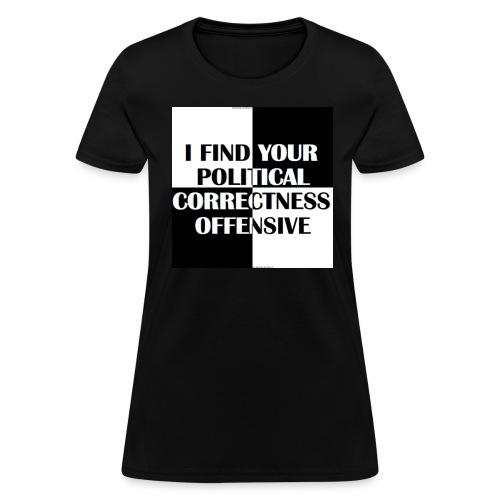PC Offensive - Women's T-Shirt