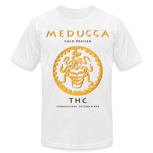 Meduzza White - Men's Fine Jersey T-Shirt
