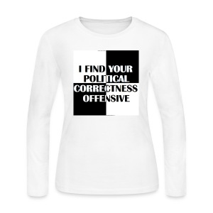 PC Offensive - Women's Long Sleeve Jersey T-Shirt