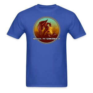 GamerQuest Circle - Men's T-Shirt