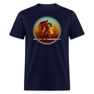 GamerQuest Circle - Men's T-Shirt