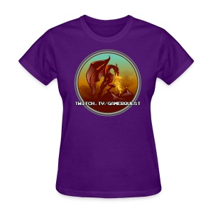 GamerQuest Circle - Women's T-Shirt