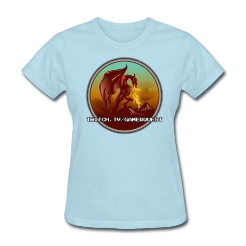 GamerQuest Circle - Women's T-Shirt