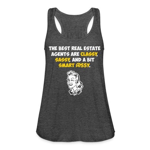 Best RE Agents Flowy - Women's Flowy Tank Top by Bella