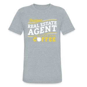 Just Add Coffee Unisex - Unisex Tri-Blend T-Shirt by American Apparel