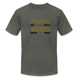 plagal grind t-shirt - Men's T-Shirt by American Apparel