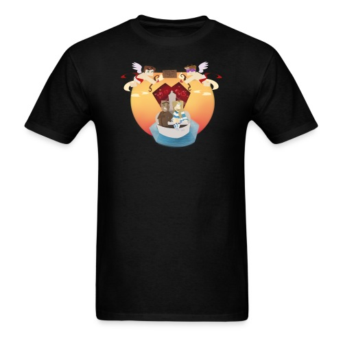 In Love with a Villager (M) - Men's T-Shirt