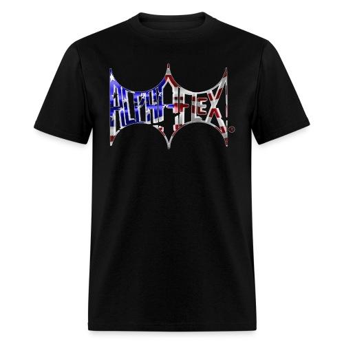 ALPHAFLEX American Flag - Men's T-Shirt