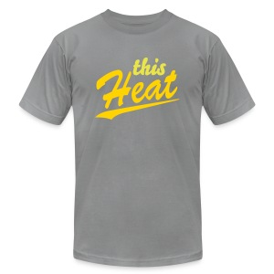 this heat shirt (needs work) - Men's T-Shirt by American Apparel