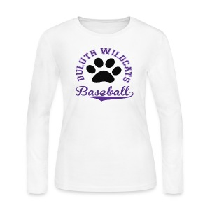 CUSTOM DULUTH BASEBALL Long Sleeve - Women's Long Sleeve Jersey T-Shirt