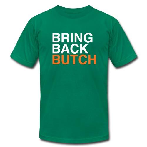 Classic Bring Back Butch T-Shirt (Green) - Men's Fine Jersey T-Shirt