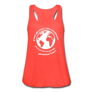 We Have One Planet  - Women's Flowy Tank Top by Bella