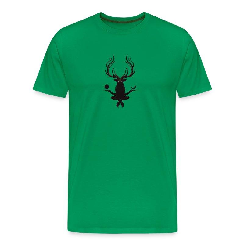 The Deer God Sun and Moon - Men's Premium T-Shirt