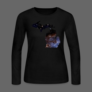 Michigan Is Made Of Stars - Women's Long Sleeve Jersey T-Shirt