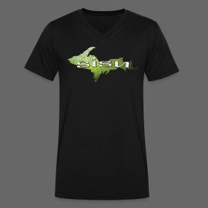 U.P. SISU - Men's V-Neck T-Shirt by Canvas