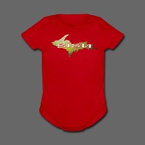 U.P. SISU - Short Sleeve Baby Bodysuit