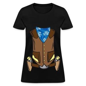 Western Cowboy Costume - Women's T-Shirt