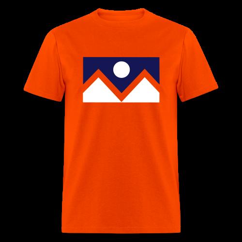 Denver Flag - Bronc - Mens OB - Men's T-Shirt