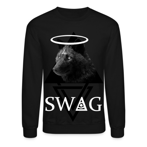 Black Wolf - Crewneck Sweatshirt
