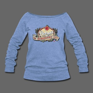 The Renaissance City - Women's Wideneck Sweatshirt