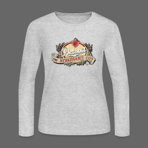 The Renaissance City - Women's Long Sleeve Jersey T-Shirt