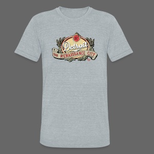 The Renaissance City - Unisex Tri-Blend T-Shirt by American Apparel