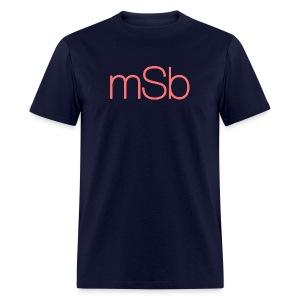 Men's mSb Logo Tee - Men's T-Shirt