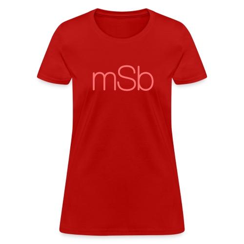 Women's mSb Logo Tee - Women's T-Shirt