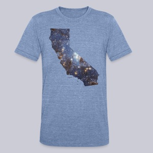 California is Full of Stars - Unisex Tri-Blend T-Shirt by American Apparel