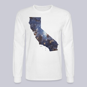 California is Full of Stars - Men's Long Sleeve T-Shirt