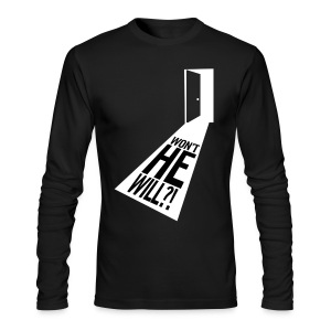 Won't He Will!? II - Men's Long Sleeve T-Shirt by Next Level