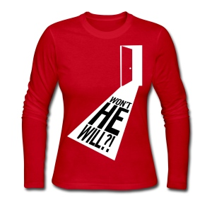 Won't He Will!? II - Women's Long Sleeve Jersey T-Shirt