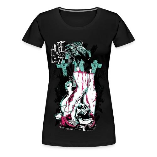 Hopeless Zombie Tee - Women's Premium T-Shirt