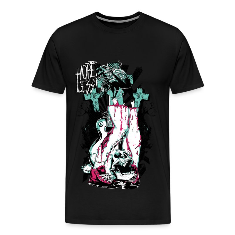 Hopeless Zombie Tee - Men's Premium T-Shirt