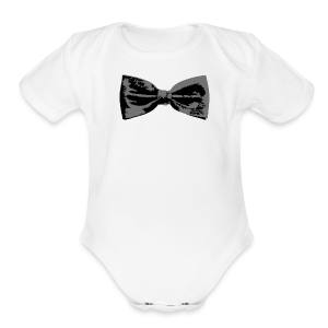 Bow Tie Baby One Piece - Short Sleeve Baby Bodysuit