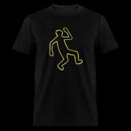 T-Shirts ~ Men's T-Shirt ~ Crime Scene Body Outline
