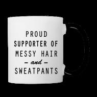 Mugs & Drinkware ~ Contrast Coffee Mug ~ Proud Supporter
