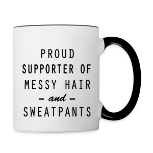 Proud Supporter - Contrast Coffee Mug