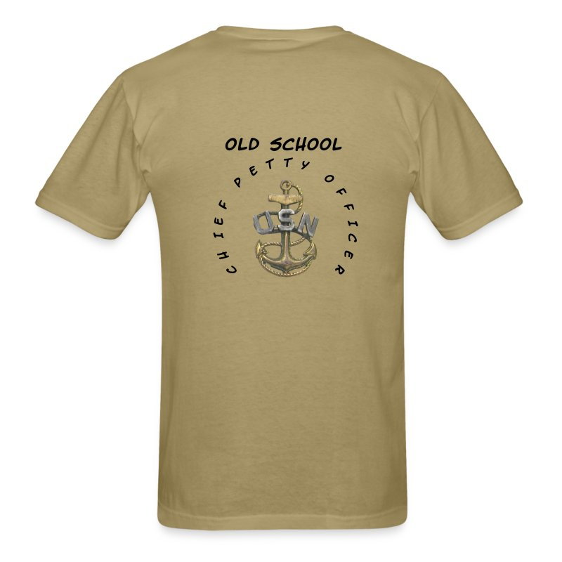 Us navy old school cpo chief petty officer t shirt for Old navy school shirts