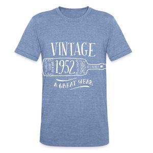 1952 Vintage Birthday - Unisex Tri-Blend T-Shirt by American Apparel