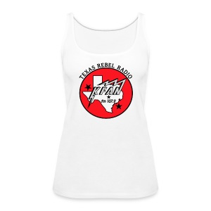 Texas Rebel Radio Tank Top - Women's Premium Tank Top