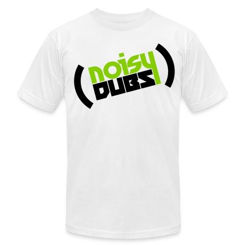 NoisyDubs OG Logo SLANT - Men's Fine Jersey T-Shirt