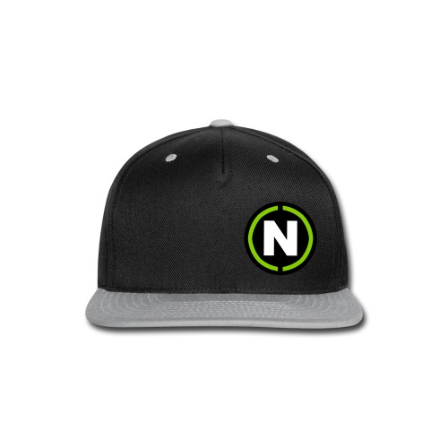 NoisyMusic N Logo - Snap-back Baseball Cap