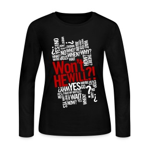 Won't He Will?! - Women's Long Sleeve Jersey T-Shirt