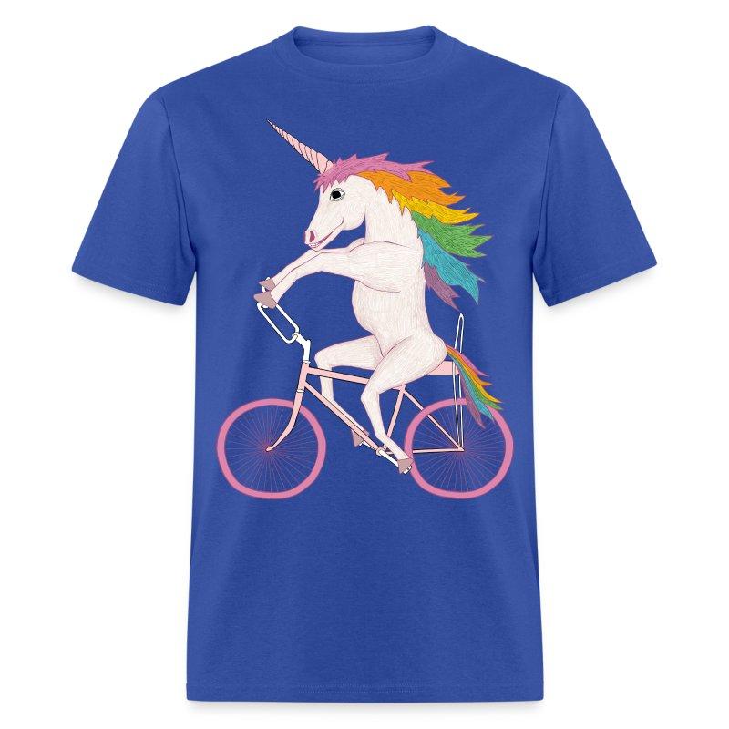 Unicorn On Bike T Shirt Spreadshirt