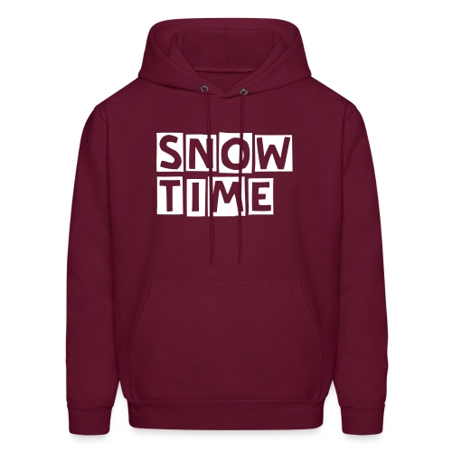 Snow-time - Men's Hoodie