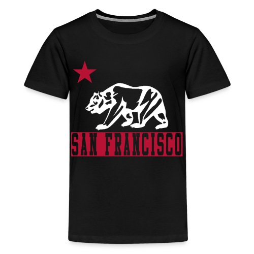 Kids San Francisco Bear - Kids' Premium T-Shirt