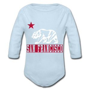 Our Little Bay Area Kid - Long Sleeve Baby Bodysuit