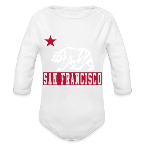 Our Little Bay Area Kid - Organic Long Sleeve Baby Bodysuit