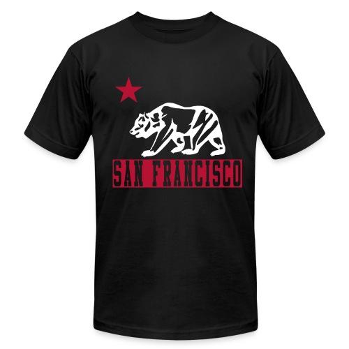 San Francisco Cali Bear Tee - Men's Fine Jersey T-Shirt